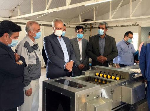 افتتاح ٤ طرح کشاورزی به مناسبت گرامیداشت هفته جهاد کشاورزی در مراغه