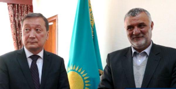 راههای توسعه همکاریهای ایران و قزاقستان بررسی شد