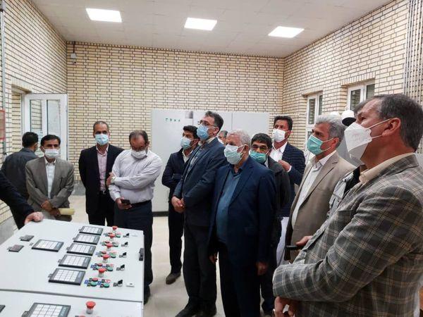 بازدید معاون وزیر جهاد کشاورزی از طرح 46 هزار هکتاری سیستان