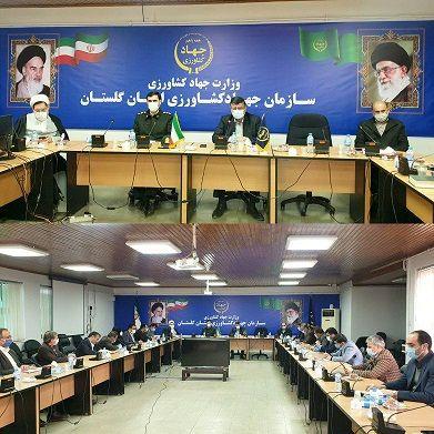 بیست و یکیمن جلسه شورای معاونین سازمان جهاد کشاورزی گلستان برگزار شد