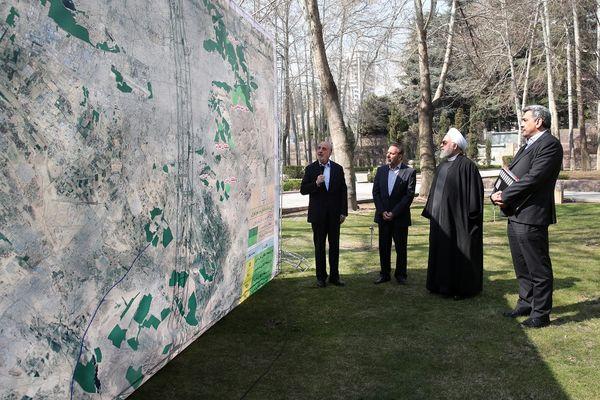 طرح 1290 هکتار جنگلکاری در تهران به بهرهبرداری رسید