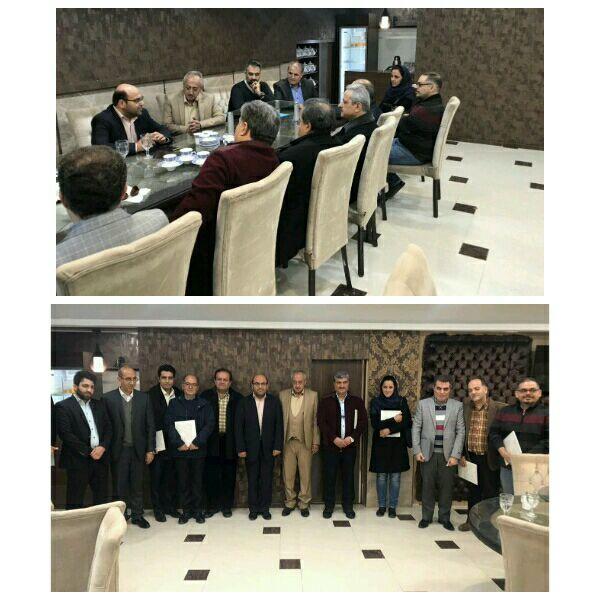 مسولین ، مشاورین ۹ کمیته تخصصی ماده ۲ و ماده ۵ نظام  دامپزشکی استان قزوین معرفی شدند