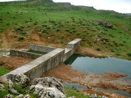 سازههای آبخیزداری شهرستان شاهرود آبگیری شد