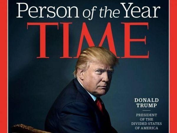 ترامپ: نمیخواهم شخصیت سال مجله تایم باشم!