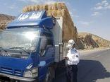 توقیف 6 دستگاه خودروی حامل محصولات کشاورزی غیر مجاز در سیروان