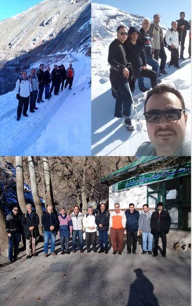 صعود تیم کوهنوردی سازمان جهاد کشاورزی استان تهران به ارتفاعات سنگان