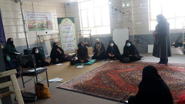 برگزاری جلسه توجیهی تشکیل صندوق اعتبارات خرد محلی در روستای بهرامآباد