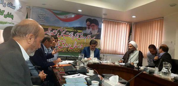 جلسه شورای امر به معروف و نهی از منکر سازمان جهاد کشاورزی خوزستان برگزار شد