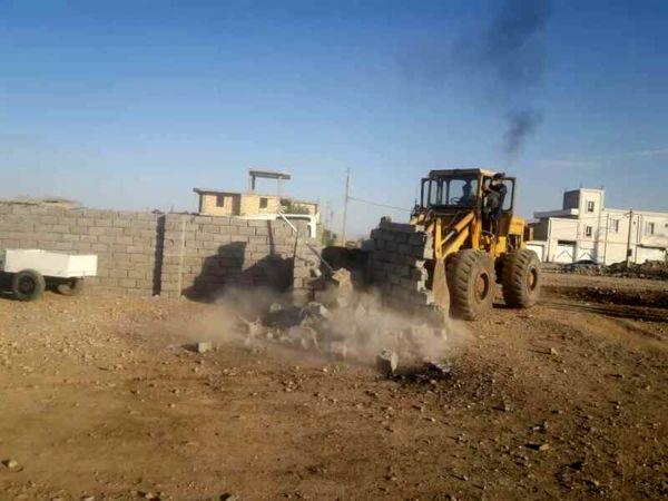 رفع تصرف از ۱۷ هزار مترمربع اراضی دهلران