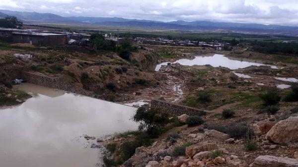 بارندگی بهاری و آبگیری طرح های آبخیزداری در قیروکارزین