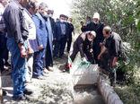 بهرهبرداری از کانال آبیاری عمومی بنو آرخی ترکمانچای  شهرستان میانه