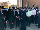 افتتاح واحد فرآوری کشمش به مناسبت گرامیداشت هفته دفاع مقدس در بناب