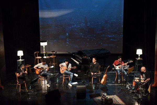 کنسرت مهرداد هویدا در نیاوران برگزار شد