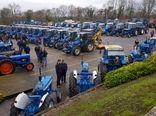 نمایشگاه تراکتورهای کمپانی فورد در ایرلند
