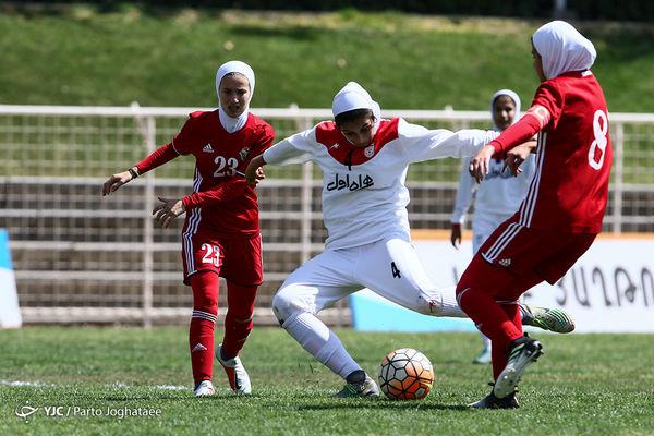 بانوان ایران 3 - 1 اردن