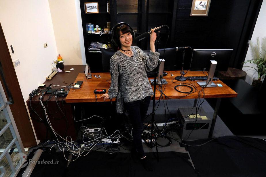 یونیکو چونگ، 24 ساله، گزارشگر بازی های ویدئویی، تایوان
