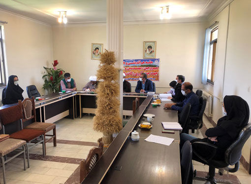برگزاری جلسه شورای هماهنگی زکات با حضور عاملین زکات و مروجین در شهرستان بناب
