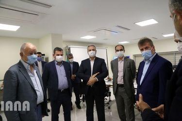 بازدید وزیر جهاد کشاورزی از پالایشگاه شیر ایران و آسیا
