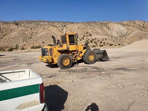 برخورد با انتقال غیر مجاز خاک در قیروکارزین