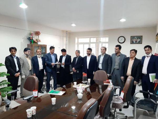 انتصاب سرپرست اداره منابع طبیعی و آبخیزداری شهرستان خانمیرزا