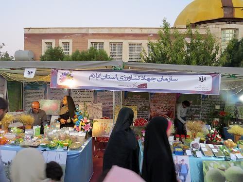 برگزاری نخستین نمایشگاه توانمندیها و دستاوردهای روستایی و عشایر ایلام