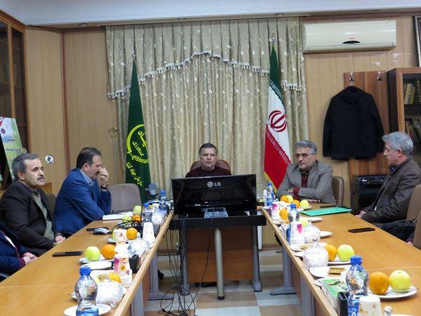 جلسه بررسی مسائل شورای سازمان نظام دامپزشکی در خراسان شمالی برگزار شد