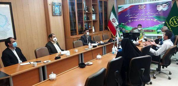 جلسه توسعه صادرات محصولات کشاورزی خراسان شمالی برگزار شد