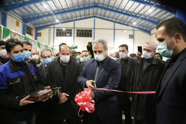 کارخانه خوراک دام و طیور و آبزیان در خراسان شمالی افتتاح شد