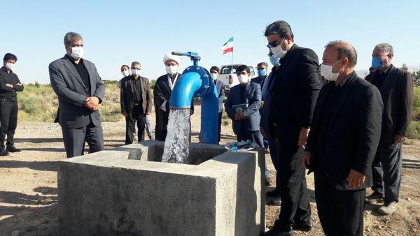 افتتاح طرح آبیاری کم فشار موتور زمزم سرایان
