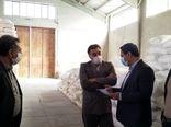 بازدید رییس سازمان از انبارهای شرکت خدمات حمایتی کشاورزی استان خراسان جنوبی