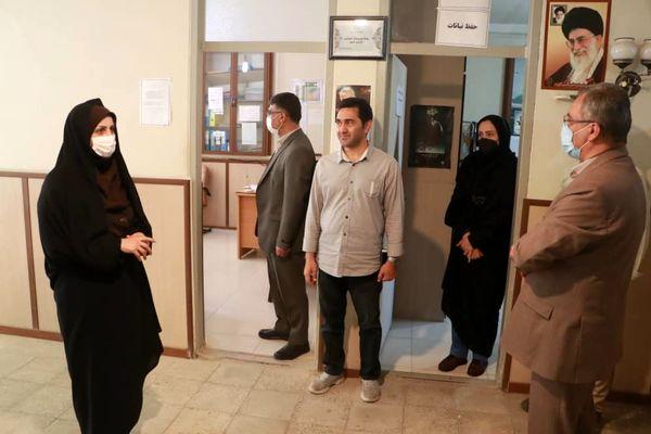 بازدید رییس سازمان جهاد کشاورزی استان قزوین از مرکز بشاریات غربی