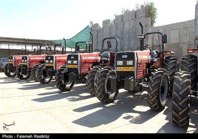 پلاک گذاری 85 دستگاه از تراکتورهای شهرستان بوشهر