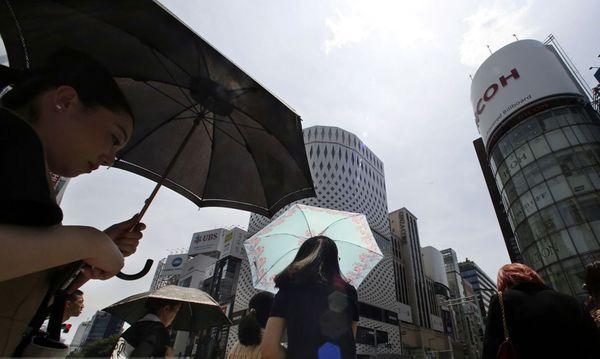 موج گرما در ژاپن