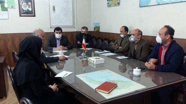 نشست مشترک مدیر جهاد کشاورزی شهرستان شفت با رئیس نوغانداری استان گیلان