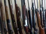 کشف 16 اسلحه شکاری در کازرون