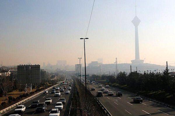 هوای تهران در چند ساعت آینده ناسالم میشود