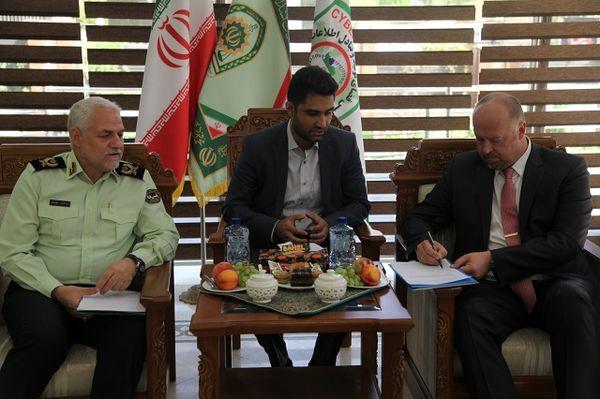 آمادگی سازمان ملل برای همکاری با پلیس ایران در جرایم یارانهای