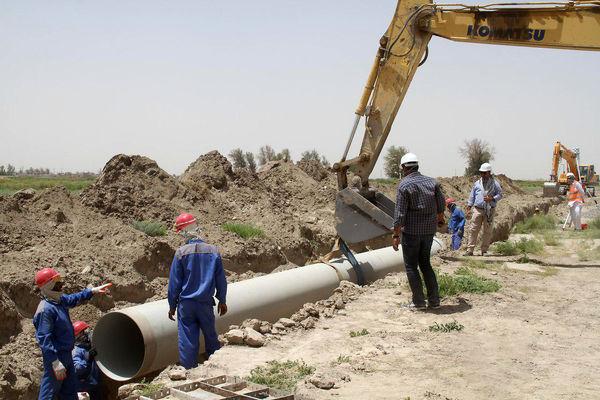 اجرای طرح آبرسانی به روستای ابرشاهرود