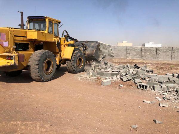 تخریب ۴ مورد ساخت و ساز غیر مجاز در قزوین