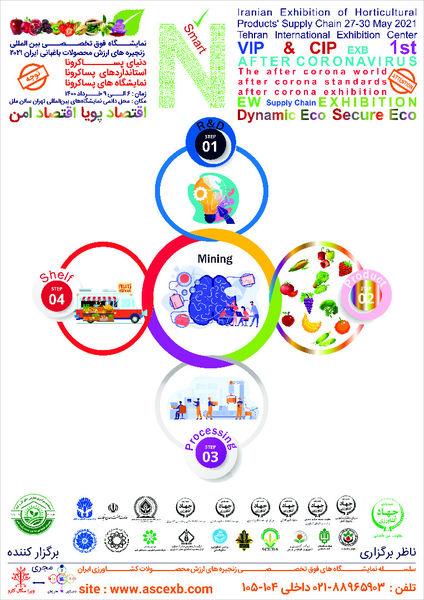 نمایشگاه بینالمللی فوق تخصصی زنجیرههای ارزش محصولات باغبانی ایران2021