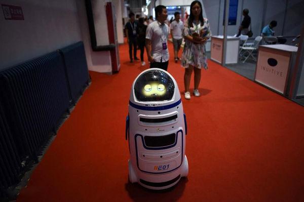 کنفرانس جهانی رباتها در چین