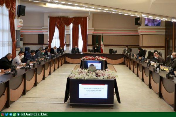 جلسه کارگروه مدیریت بحران و مخاطرات بخش کشاورزی استان قزوین برگزار شد
