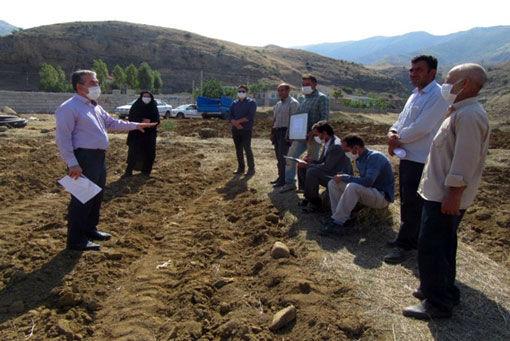 دوره آموزشی ترویجی کشت کلزا در شهرستان خداآفرین