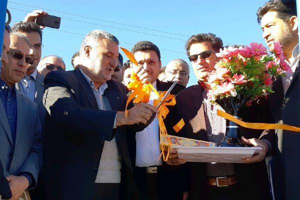 افتتاح پروژه ۵۵۹ هکتاری آبیاری نوین در گلپایگان با حضور وزیر جهاد کشاورزی