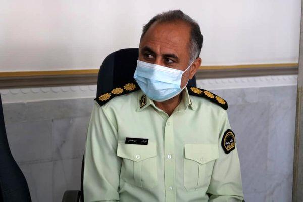 فرمانده یگان حفاظت از اراضی کشاورزی جنوب استان کرمان معرفی شد