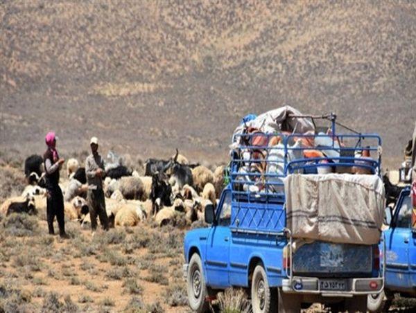 کوچ ماشینی اجباری عشایر برای جلوگیری از شیوع ویروس کرونا