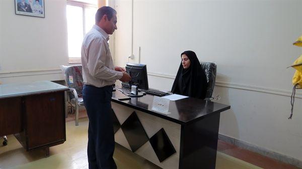 استقرار میز خدمت در سازمان جهاد کشاورزی استان ایلام