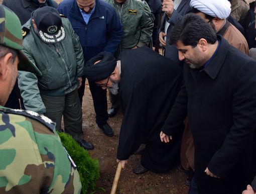 آغاز اجرای طرح نهالکاری همگانی برای ایرانی سبز در تبریز