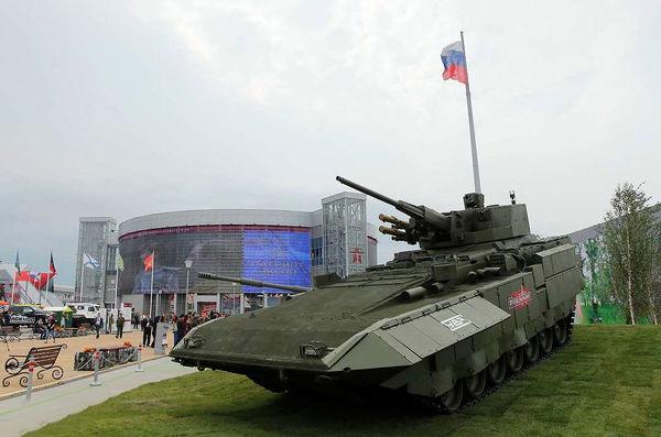 نمایشگاه اکسپوی نظامی مسکو