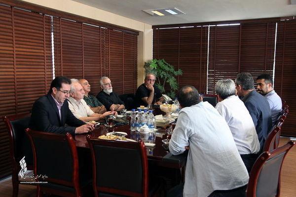 تشکیل جلسه کمیته مراسم بدرقه عزت الله انتظامی